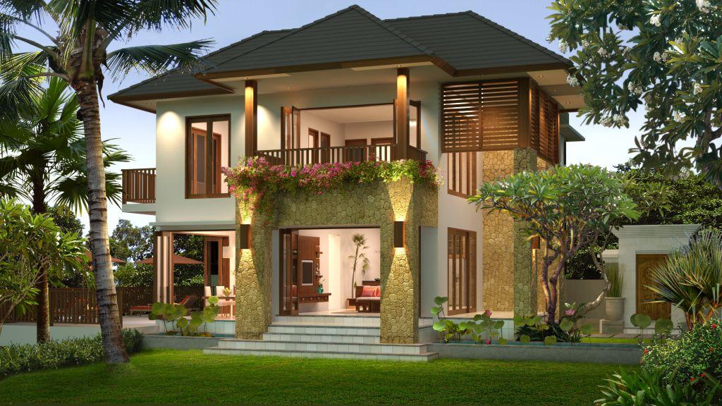 43 Gambar Rumah Minimalis 2 Lantai Luas 300m2 Gratis Terbaik