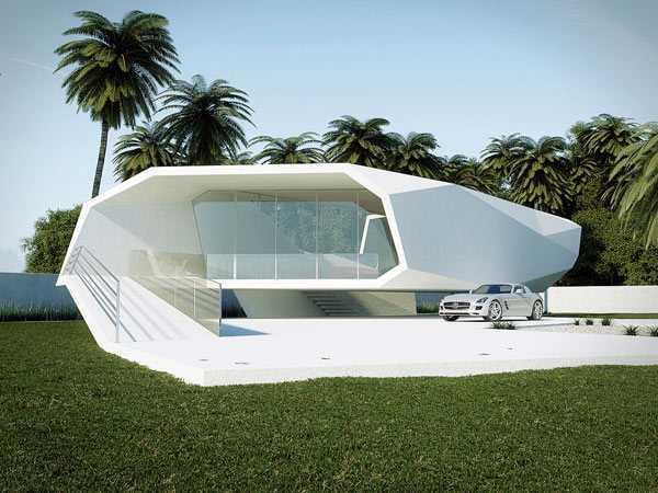 Desain rumah unik (Sumber: freshome.com)