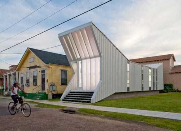 Tampil beda dengan arsitektur rumah yang tidak biasa (Sumber:archinhome.com)