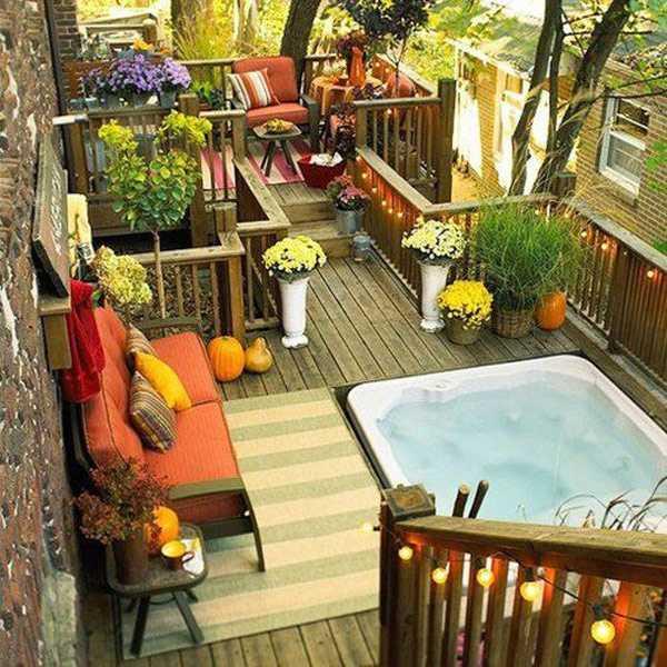 Memadukan elemen kayu dan alam menjadi satu (Sumber: freshome.com)