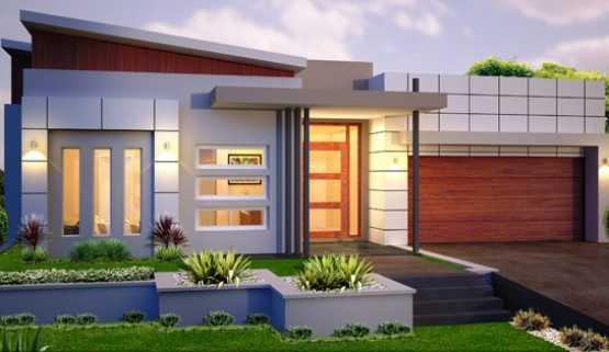 Rumah modern minimalis (Sumber: 7desainminimalis.com)