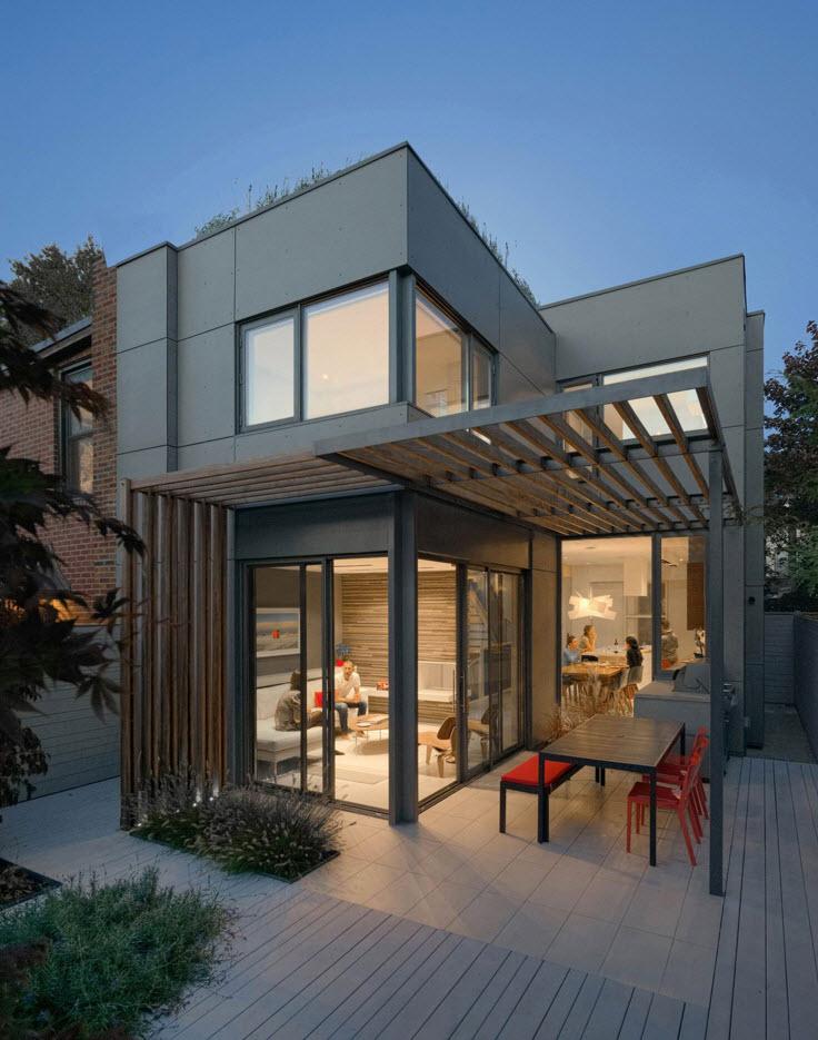 Arsitektur rumah mungil karya Dubbeldam Architecture + Design [Sumber: construyehogar.com]