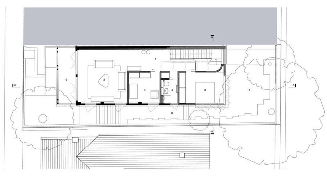 Arsitektur rumah mewah namun mungil bergaya modern karya Christopher Polly [Sumber: construyehogar.com]