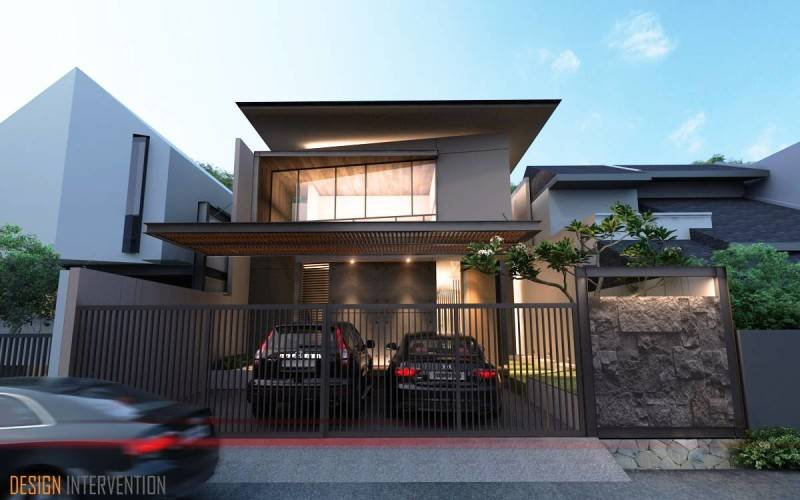 Taman Ratu House karya DESIGN INTERVENTION [Sumber: arsitag.com]