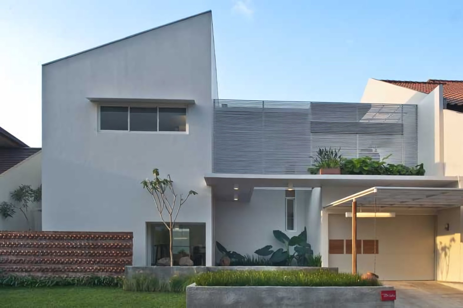 9.  Model Rumah Modern dan Simple