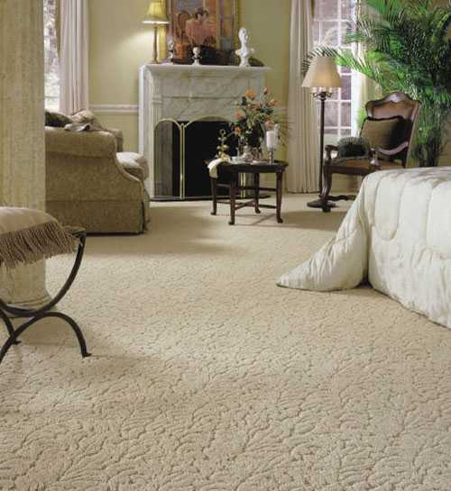 Penggunaan karpet di kamar tidur (Sumber: www.the2001carpethouse.com)