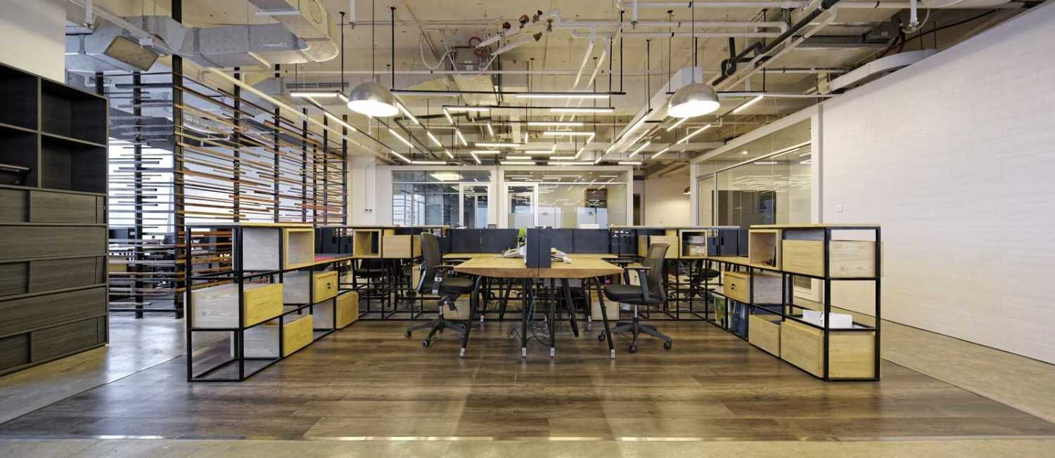 Head Office di BBDO Indonesia Office karya Delution Architect (Sumber: arsitag.com)