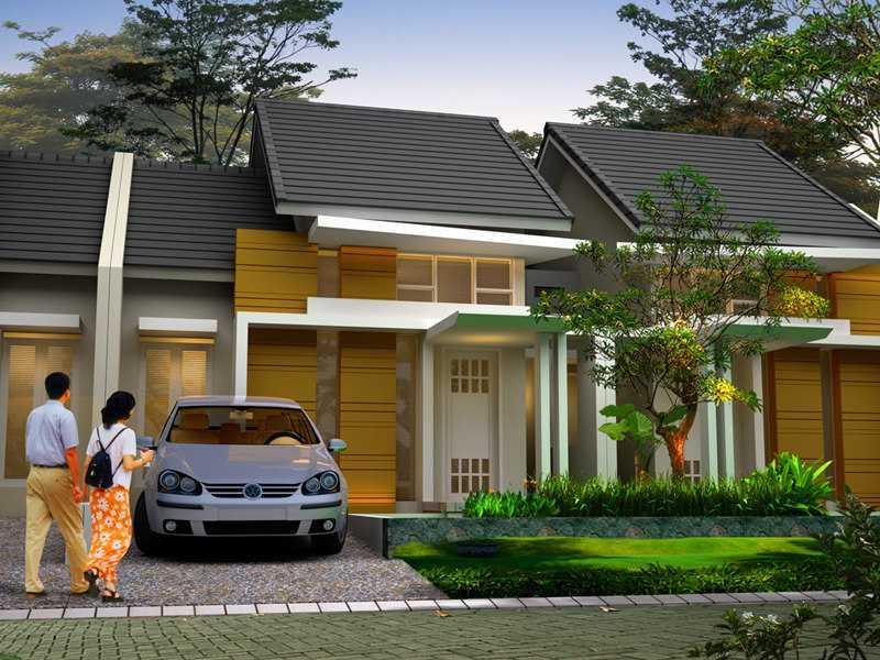 Rumah tipe 45 (Sumber: rumahmasadepan.com)