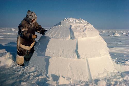 Iglo, rumah suku Inuit untuk menghadapi dingin (Sumber: likesuccess.com)