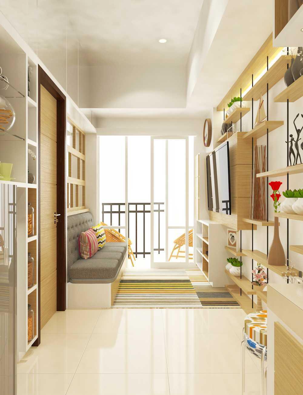 Interior design of apartment unit karya MIV Architects (Muhammad Ikhsan Hamiru & Partners) (Sumber: arsitag.com)