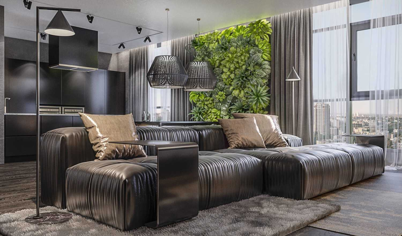Inspirasi Desain Interior Ruang Tamu Keren Untuk Apartemen Baru Anda | Foto artikel Arsitag