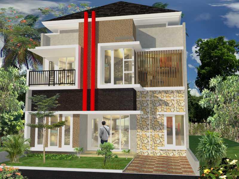 Rumah tipe 200 (Sumber: indodesain.wordpress.com)