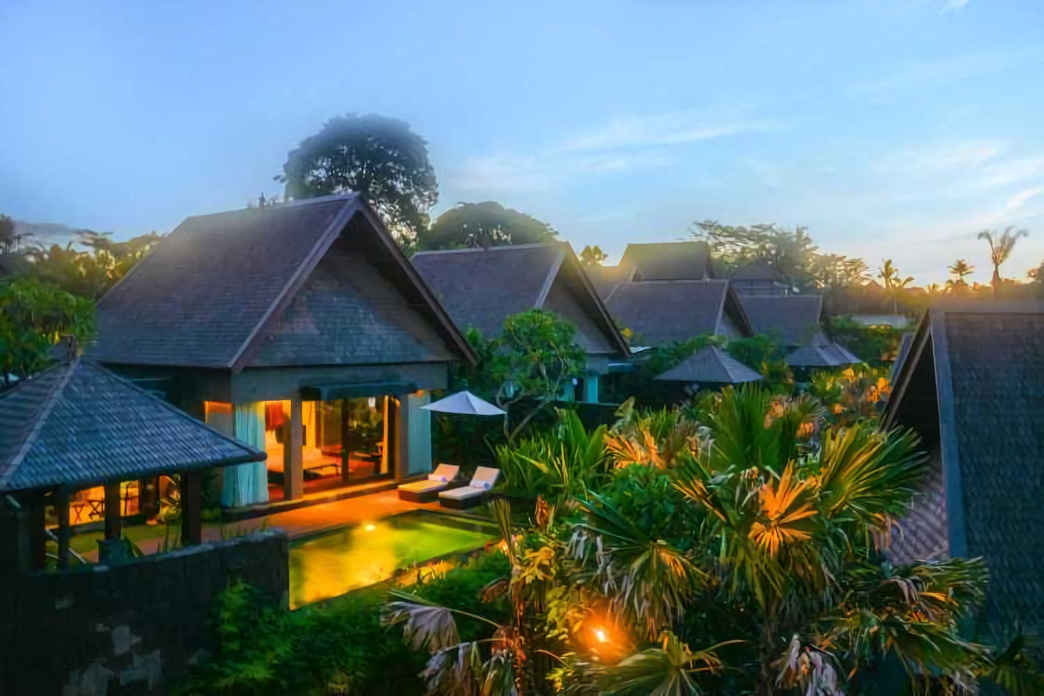 The Sanctoo Villa karya IMAJI Architect tahun 2015 (Sumber: arsitag.com)