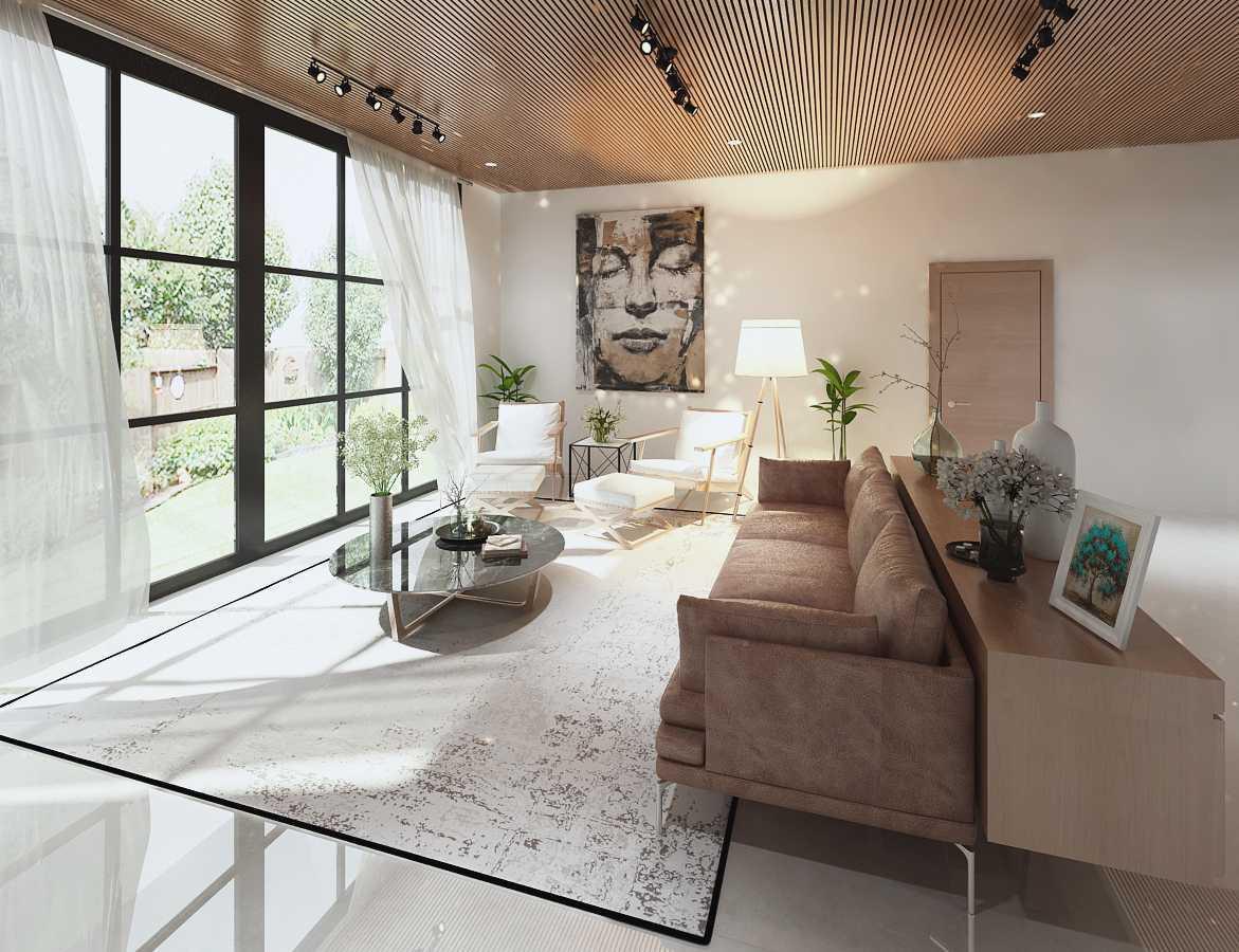PRIVATE RESIDENCE - SERPONG karya MIMO HOME INTERIOR DESIGN & BUILD (Sumber: arsitag.com)