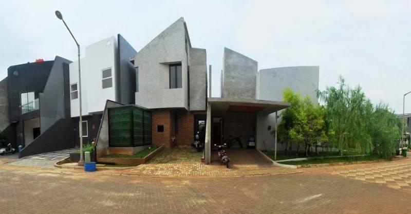Rumah Kecil At Ozone Residence Karya AKANOMA YU SING(Sumber:arsitag.com)