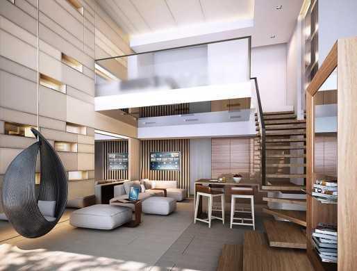 Untuk ukuran dari sebuah unit SOHO dapat bervariasi, mulai dari tipe studio dengan luas 30 m2, tipe suite dengan luas 42 m2, atau tipe lainnya dengan luas 60 m2, 76 m2, dan 122 m2. Luas dari setiap unit SOHO ini dapat berbeda-beda tergantung pada pengembang.