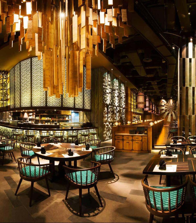 Enmaru Japanese Fine Dining Karya Metaphor (Sumber: zomato.com)