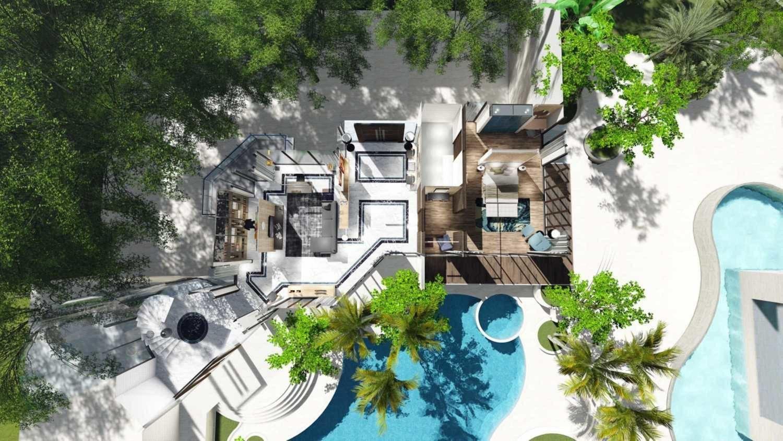 Desain renovasi rumah Kedoya House Renovation karya SAMITRAYASA [Sumber: arsitag.com]