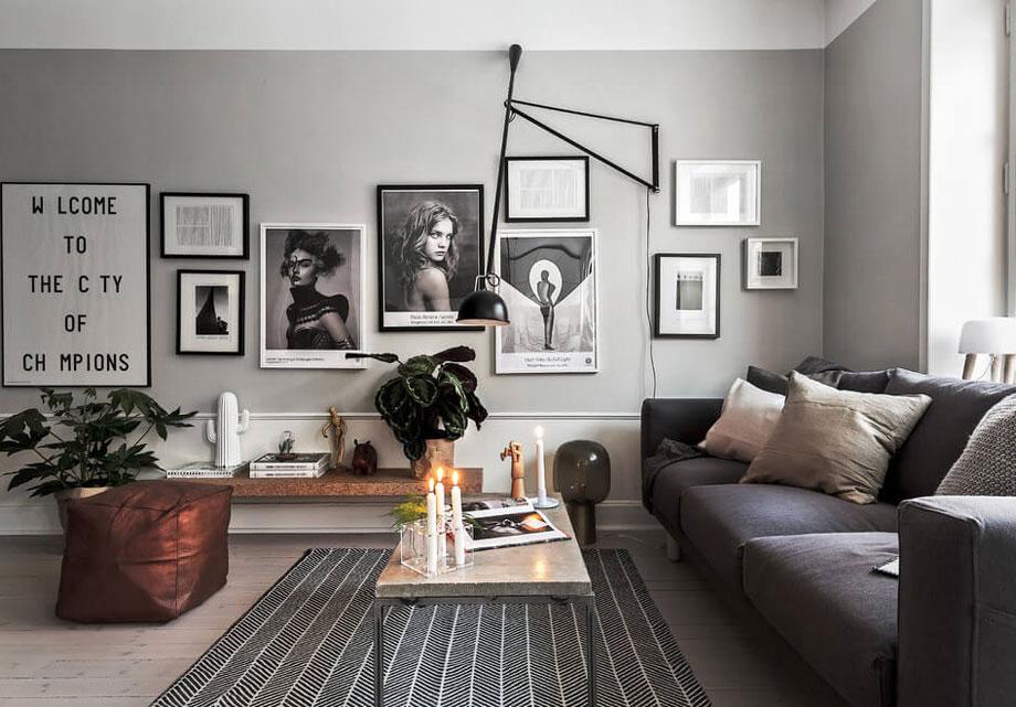 Sentuhan maskulin pada konsep rumah Scandinavian [Sumber: dmarge.com]