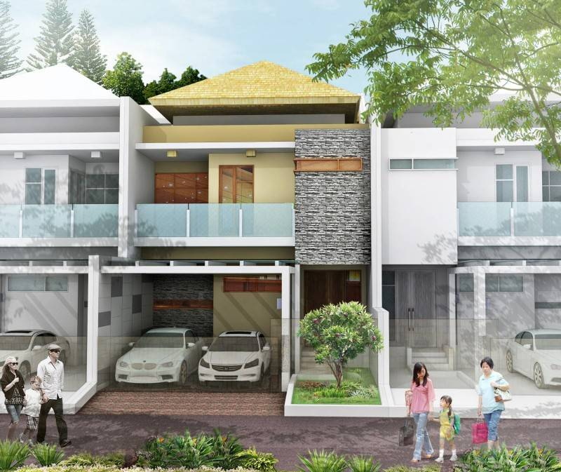 Rumah Bogor Karya AN+ (Sumber: arsitag.com)