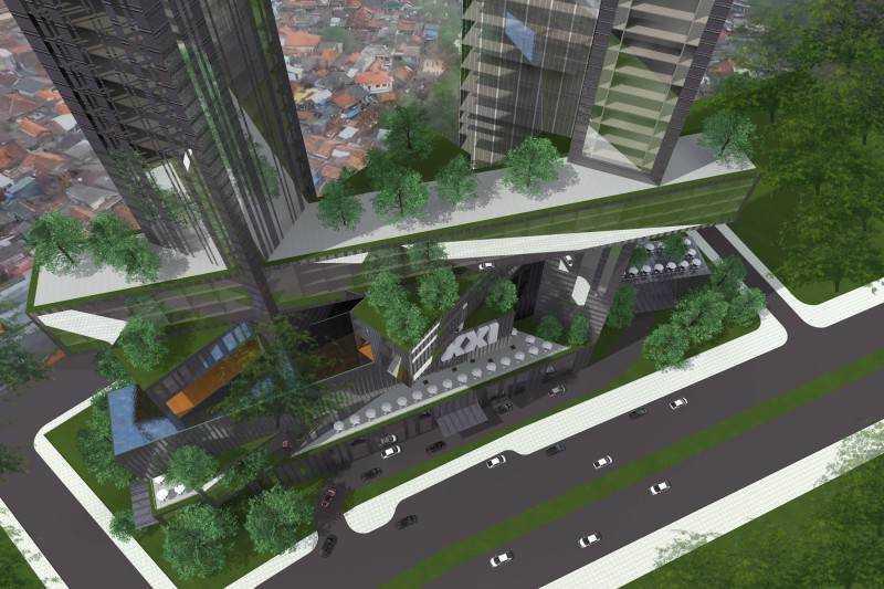 Platinum Condominium karya Monokroma Architect (Sumber: arsitag.com)