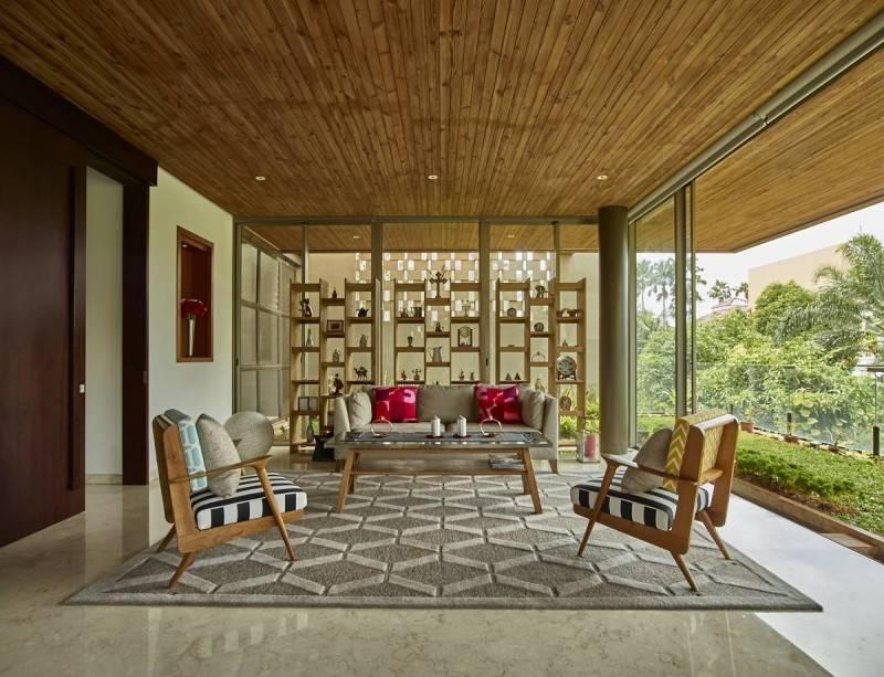 Interior rumah Jepang Kembang Murni House karya RAW Architecture [Sumber: arsitag.com]