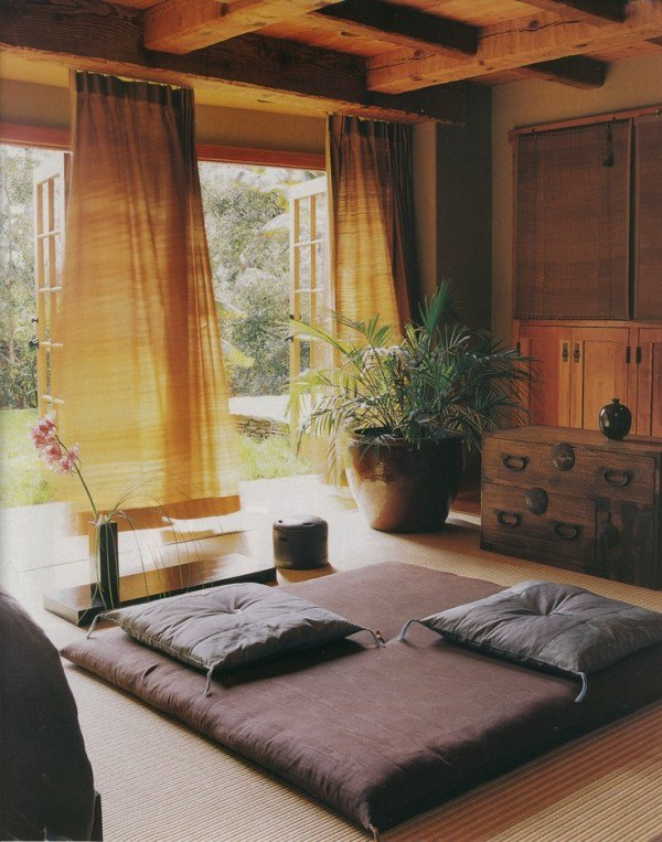 Ruang meditasi pada interior rumah Jepang [Sumber: architectureartdesigns.com]