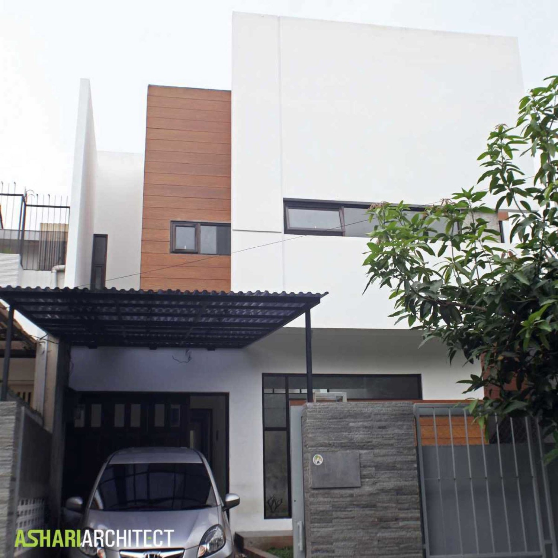 Gaya rumah Jepang minimalis Alam V House karya Ashari Architects [Sumber: arsitag.com]