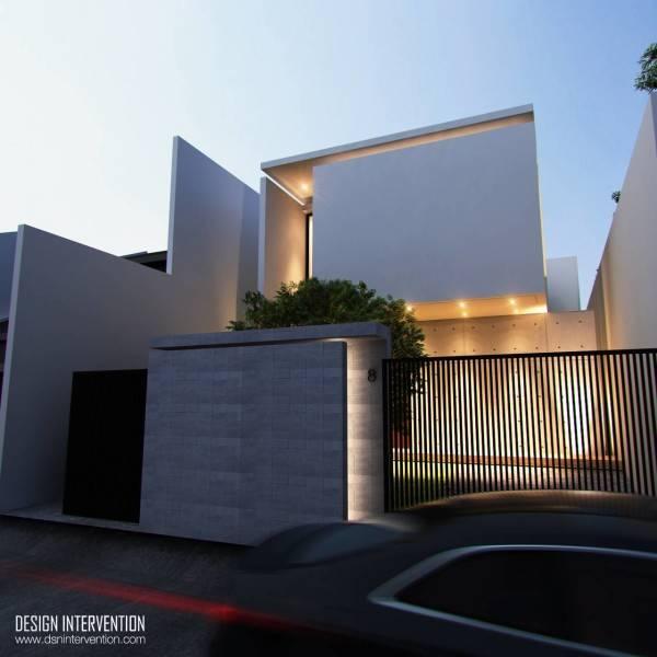 J House At Gading Serpong Karya DESIGN INTERVENTION(Sumber: arsitag.com)