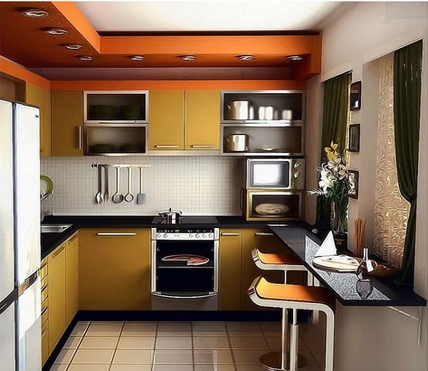 Desain Dapur Minimalis (Sumber: desainrumahmodern.com)