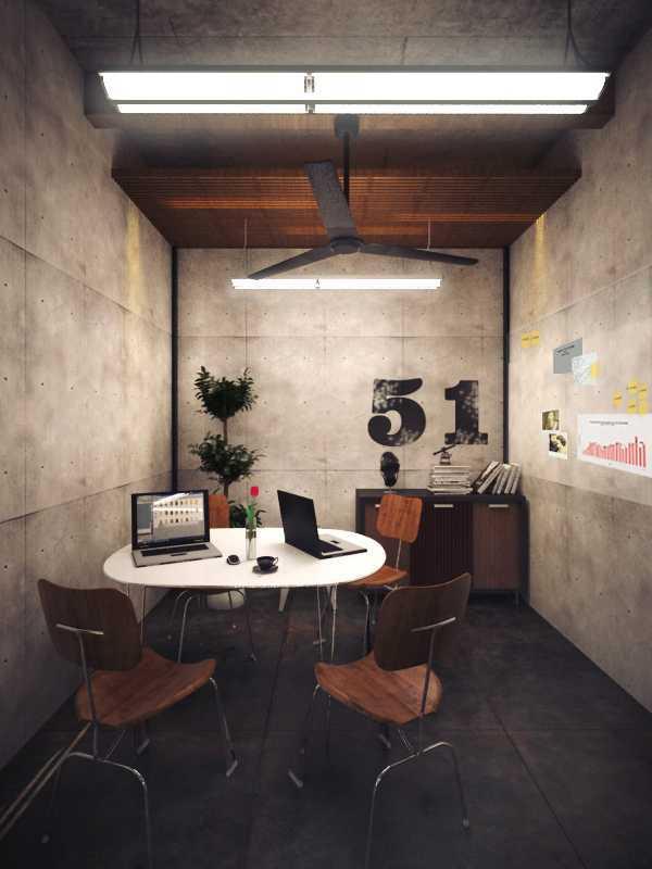 Ruang Kerja Minimalis Karya Santoso Hendra Image Source: www.arsitag.com