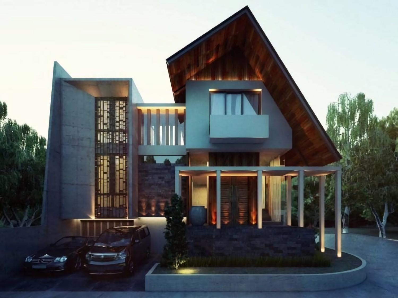 Pesona Material Kayu Untuk Mempercantik Tampak Depan Rumah