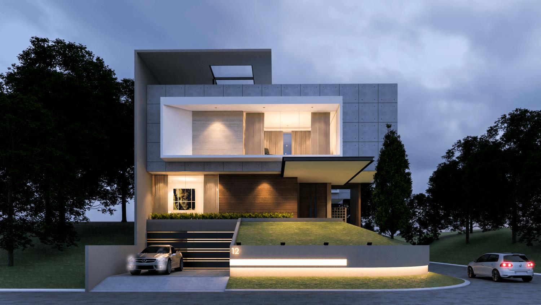 .House At PIK karya .Interval tahun 2017 (Sumber: arsitag.com)