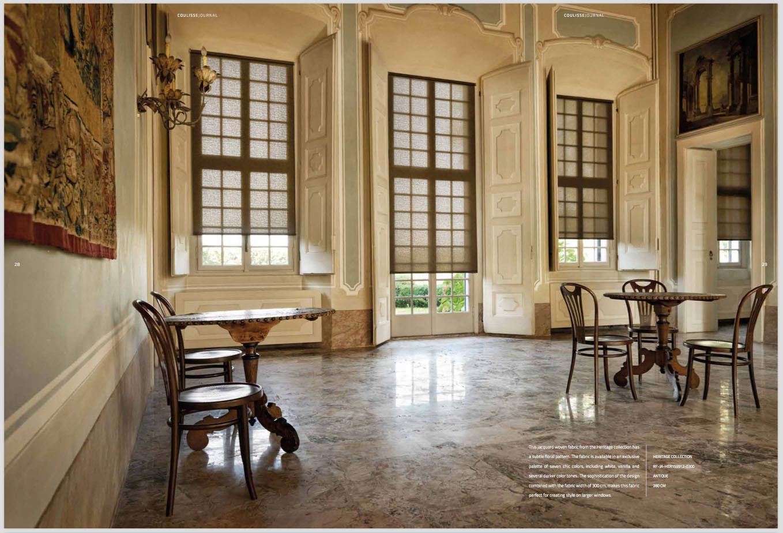 Menempatkan Blind Sebagai Elemen Dekoratif Dalam Interior Klasik | Foto artikel Arsitag