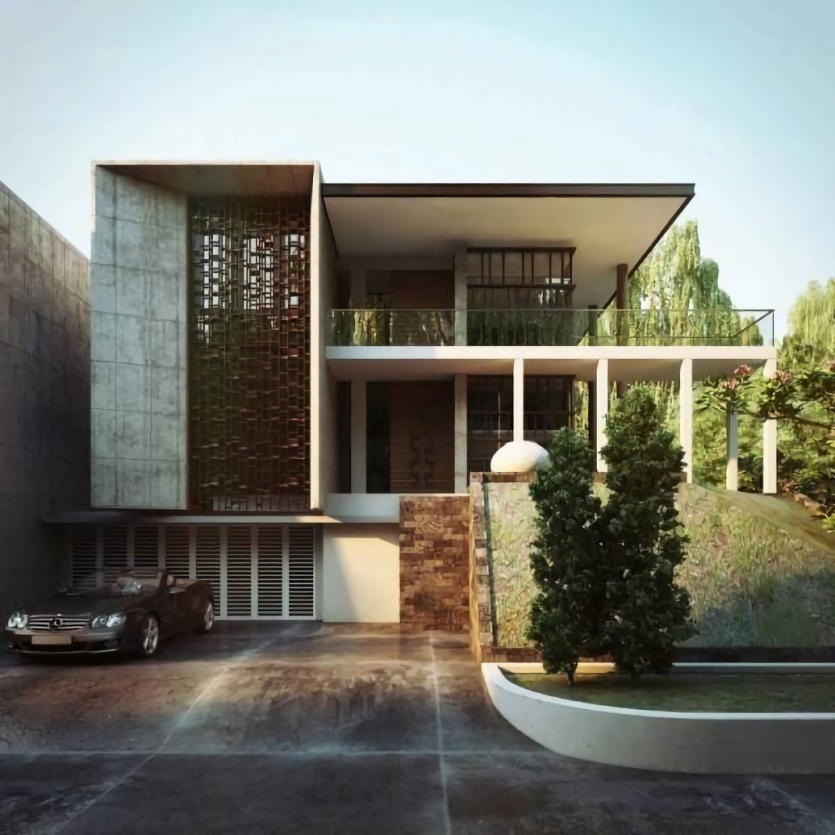 AL House at Alam Sutra karya Nelson Liaw tahun 2014 (Sumber: arsitag.com)