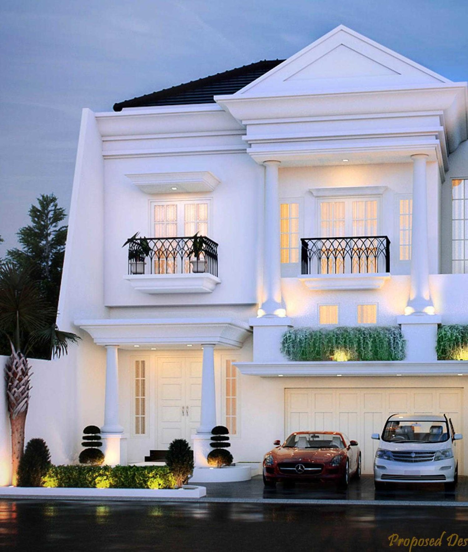 Rumah Klasik at Tebet karya faiz tahun 2015 (Sumber: arsitag.com)