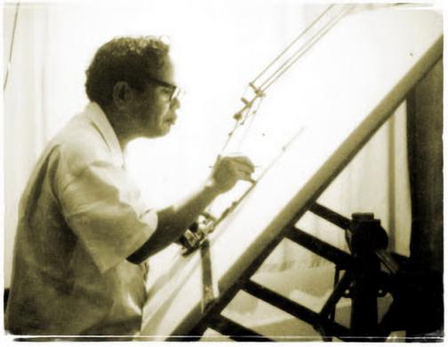 Frederich Silaban (1912-1984) salah seorang pemrakarsa terbentuknya IAI (sumber: onoaja.blogspot.co.id)