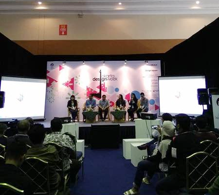 Jakarta Design Week 16-19 Maret 2017 di Jakarta Convention Center (sumber : instagram iai jakarta)