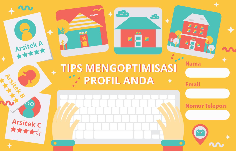 Tips mengoptimisasi profil profesional Arsitag Anda | Foto artikel Arsitag
