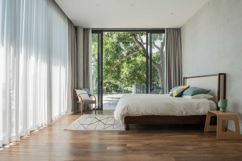 Desain kamar tidur minimalis Scandinavian House 1 karya Tamara Wibowo [Sumber: arsitag.com]