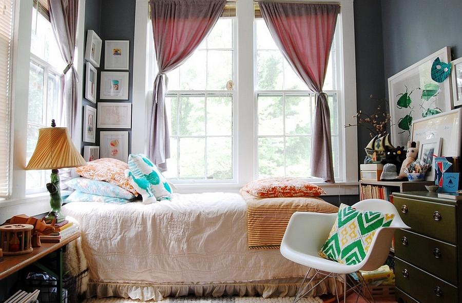 Desain kamar tidur unik bergaya eklektik [Sumber: operative.us]