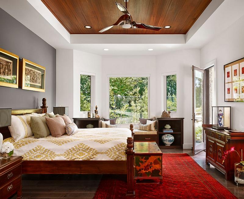 Ide desain kamar tidur unik bergaya Asia [Sumber: decoist.com]
