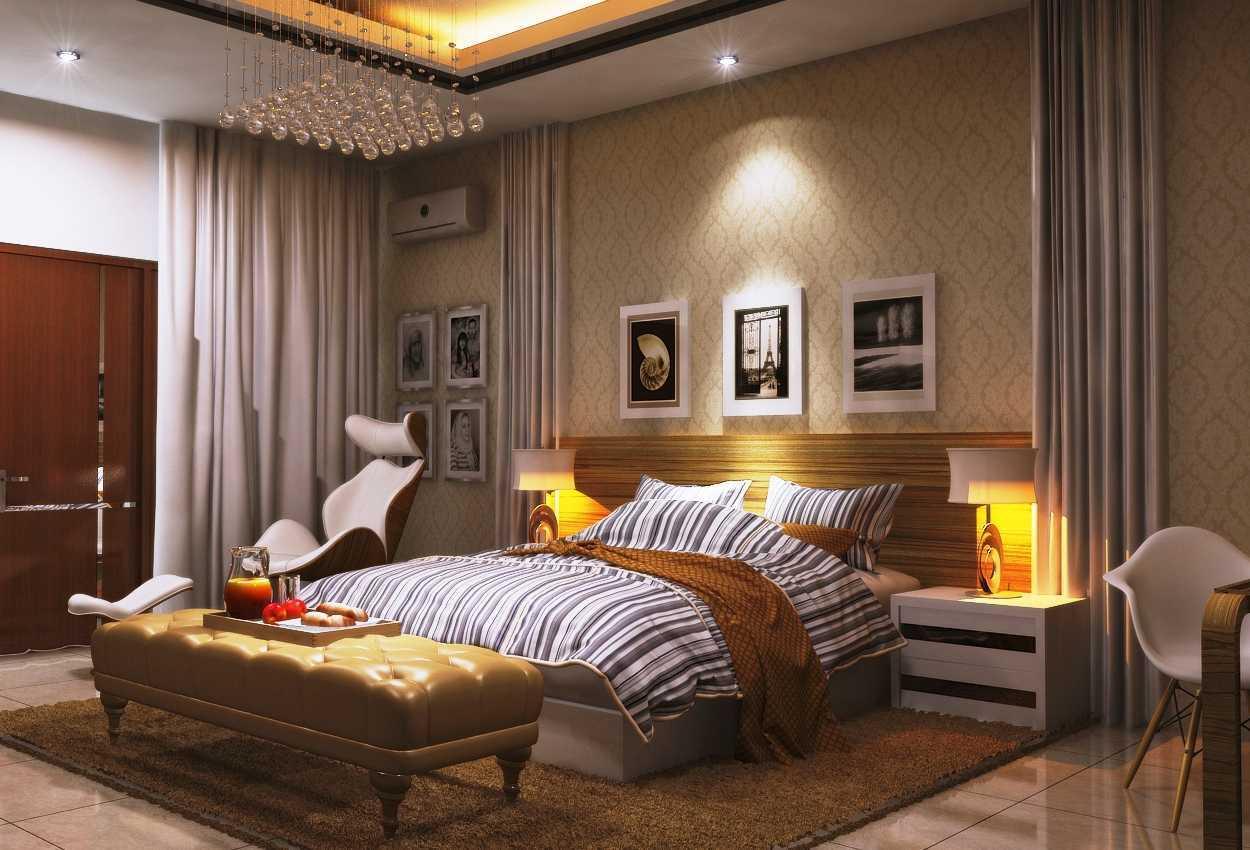 Desain interior kamar tidur R8 HOUSE karya Gilbert Yohannes Voerman [Sumber: arsitag.com]