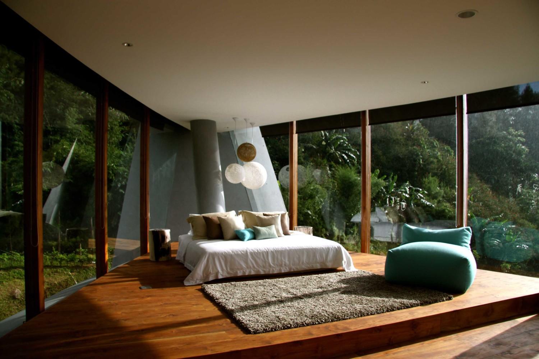 Desain Kamar Tidur Dinding Kaca | Desain Rumah