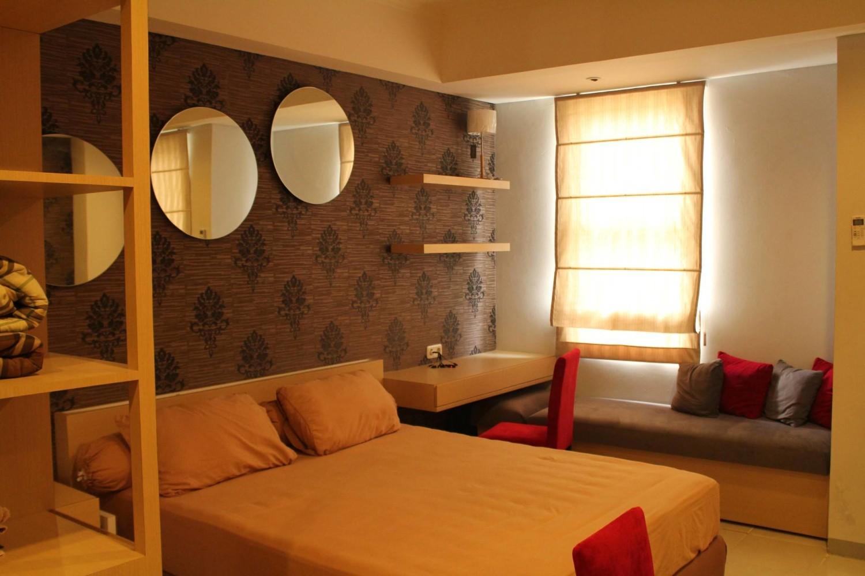 Desain kamar tidur sederhana dan murah Silkwood Apartemen karya PT Ergonomi Cipta Karya [Sumber: arsitag.com]