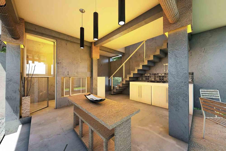 Besi House at Sleman karya ABOV tahun 2016 (Sumber: arsitag.com)