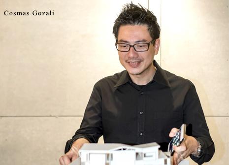 Cosmas Damianus Gozali, lulusan Technische Universitats Wien, Wina, Austria sudah 20 tahun berpengalaman dan menorehkan berbagai karya arsitektur modern, kontemporer, dan futuristik di Indonesia dan di berbagai negara (sumber: sugarandcream.co)