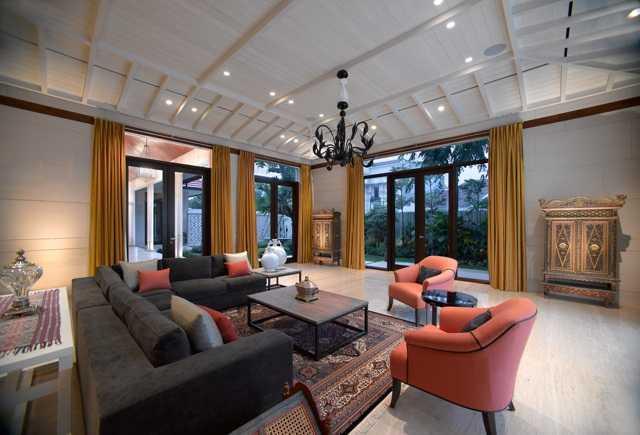 Desain rumah etnik jawa klasik Residential karya Rudy Dodo [Sumber: arsitag.com]