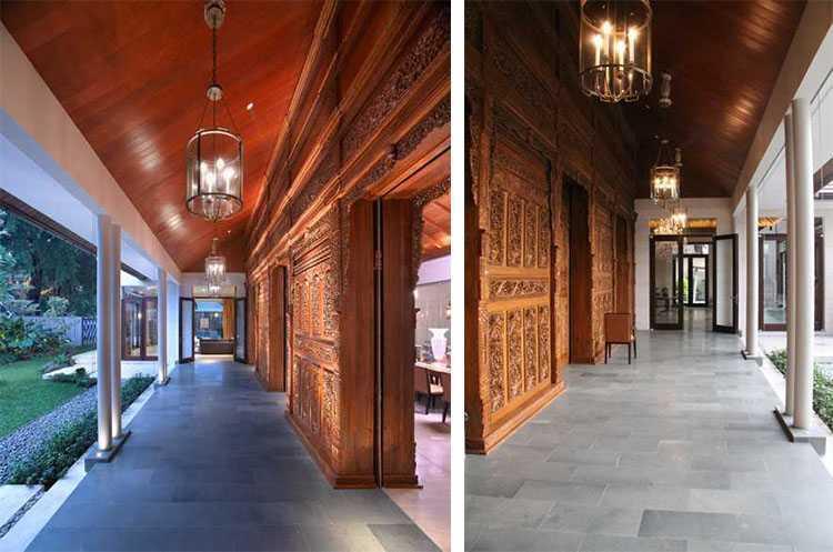Desain rumah gaya etnik Residential karya Rudy Dodo [Sumber: arsitag.com]