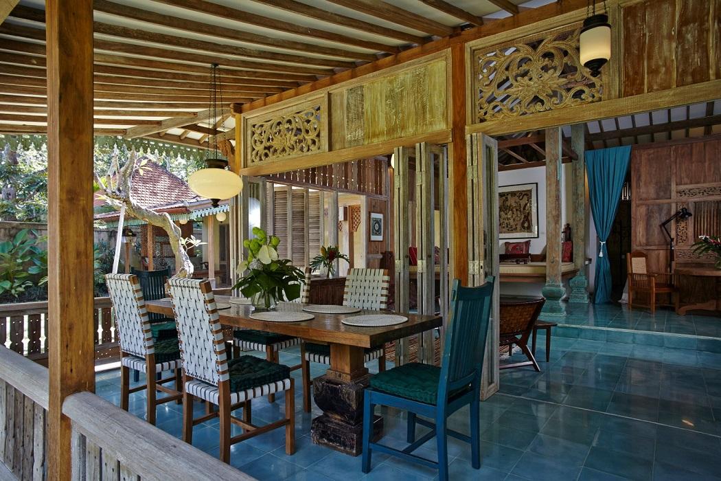 Desain Interior Rumah Tradisional Yang Eksotis Dan Menawan